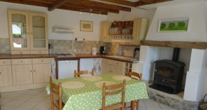 photo of kitchen in self catering accommodation