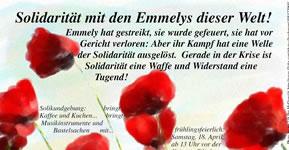 Solidarität mit dem Emmelys dieser Welt