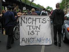 AStA TU Berlin unterstützt langzeitstudentische Anliegen beim Internationalen Kampf- und Feiertag der Arbeitslosen