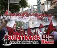 Suntracsdemo in Panama City am 1.5.2015