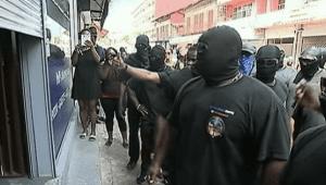 Vorbereitung des Generalstreiks in französisch Guyana hier am 25.3.2017
