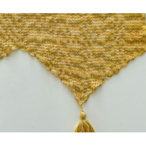 brise bise crochet rideau ancien