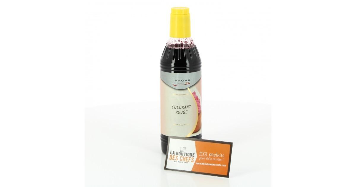 colorant alimentaire rouge 500 ml prova