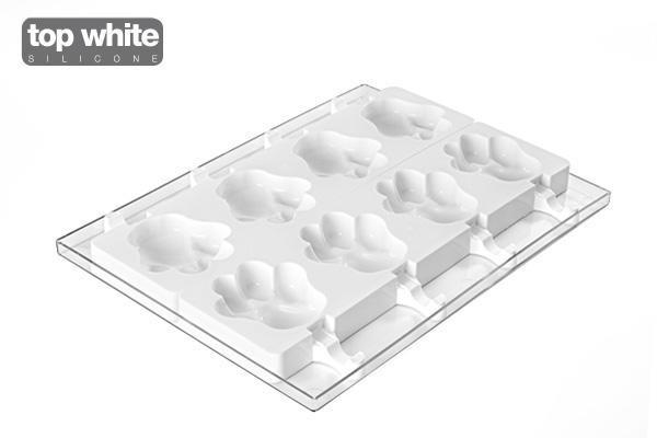 moule a esquimaux en silicone patte 8 empreintes