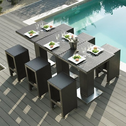 Table haute jardin Dolce Vita  La Boutique Desjoyaux