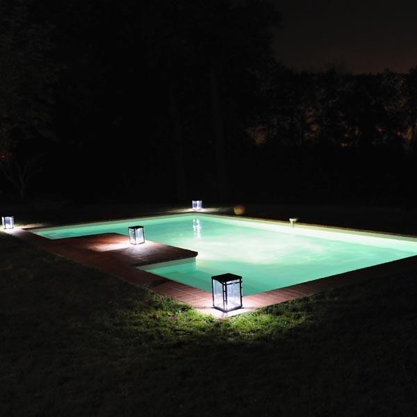 Lampe solaire de jardin Lantern Solar  La Boutique Desjoyaux