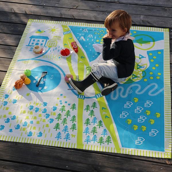tapis de jeu exterieur tapikid nature