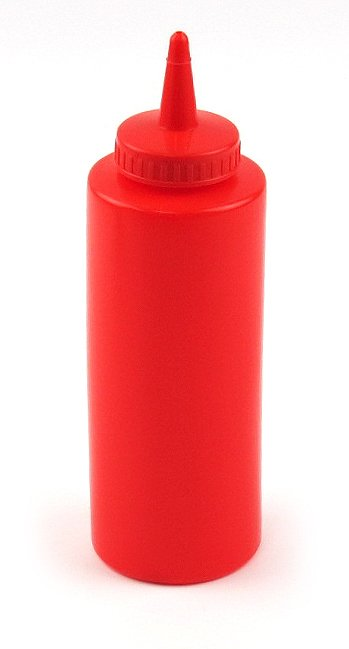 12oz Squeeze Bottle rouge