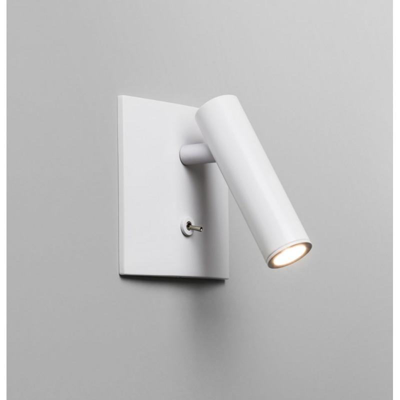 Applique Murale LED Encastrable Enna Blanche Avec