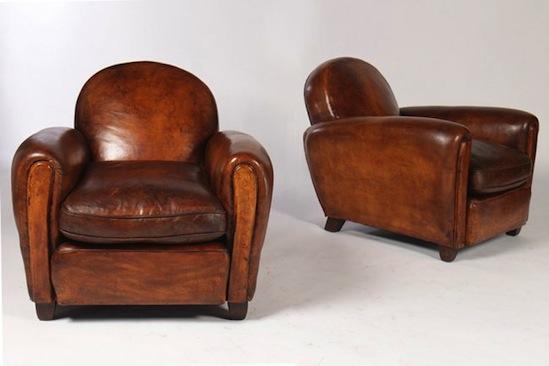 French Club Chair  Vintage Furniture  La Boutique Vintage
