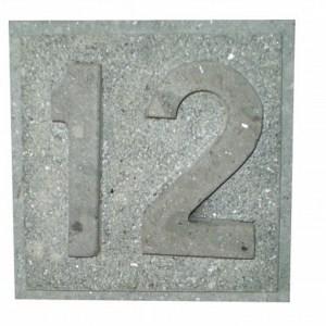 Número 12 Pegado