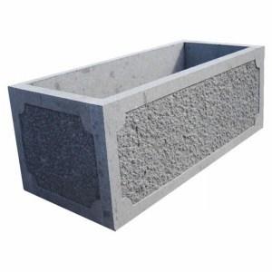 Jardinera en piedra
