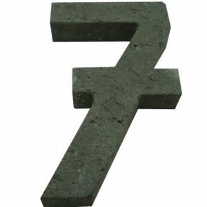 Número 7 suelto