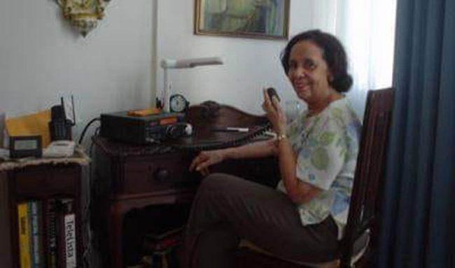 Homenagens pelo falecimento de Waldelira PY6ATY, Rainha do Radioamadorismo baiano