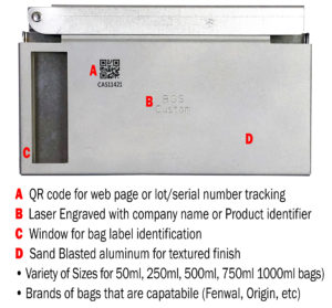 freezer rack labeling identification