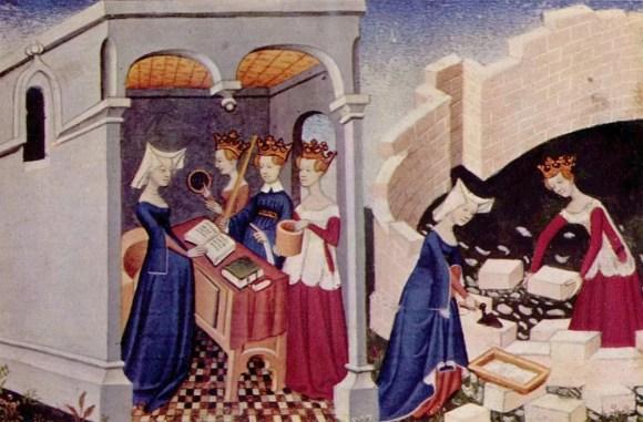 Illustration from Le Livre de la cité des dames