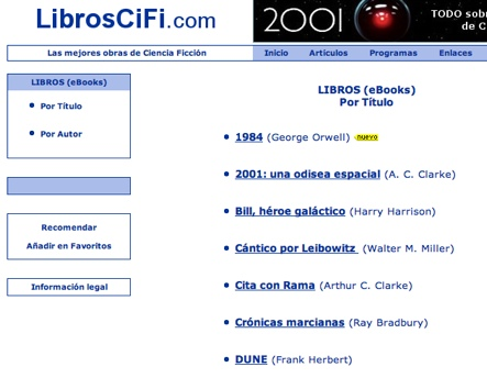 Libros Cifi .Com - Las Mejores Obras De Ciencia-Ficcio?n (Cifi) - Mozilla Firefox (Build 2007072517)