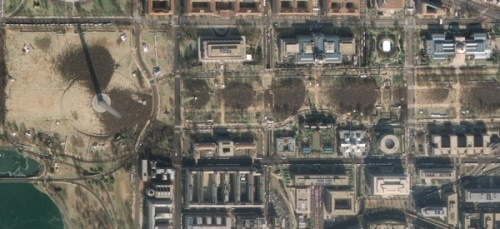 obama inauguration from space