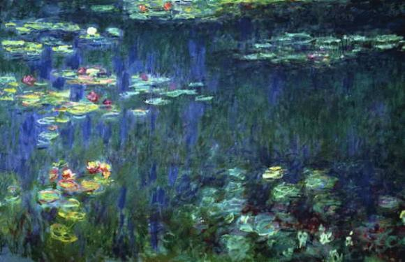 Monet abstracción