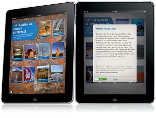 Guías lonely Planet iPad
