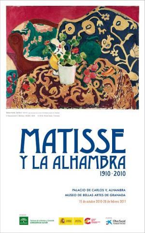Matisse vuelve La Alhambra siglo después