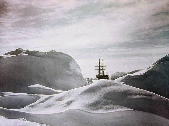 Glimpse of the Ship Endurance