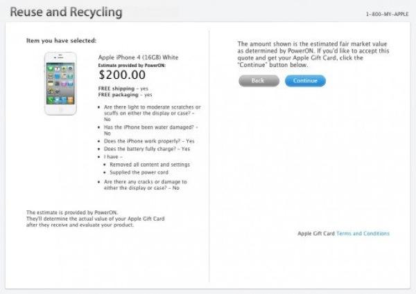 Apple recicling program