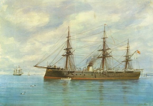 Buque histórico fragata Numancia