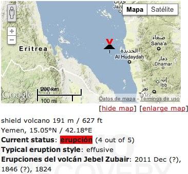 Jebel Zubair Volcano Yemen
