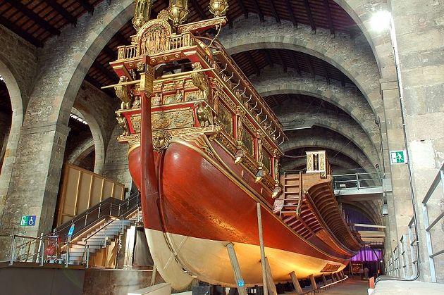 Paseo fascinante Museo Maritimo Barcelona