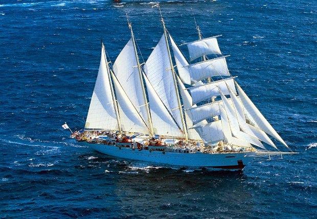 Octubre crucero vela Star Clippers