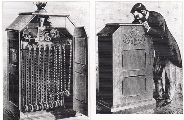 William k Dickson invención kinetoscopio