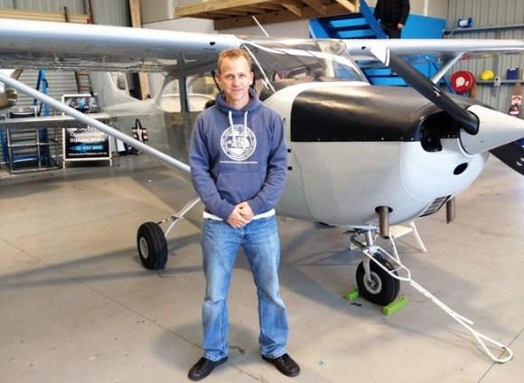Jeremy Roswell Avion Plastico