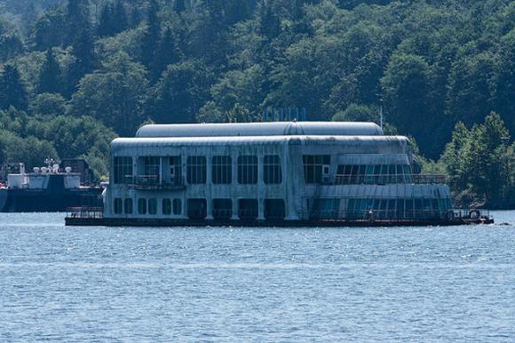 Primer McDonalds flotante rehabilitado embarcadero Vancouver