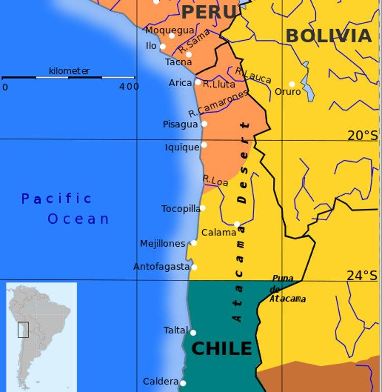 Bolivia reclama Haya devolucion litoral