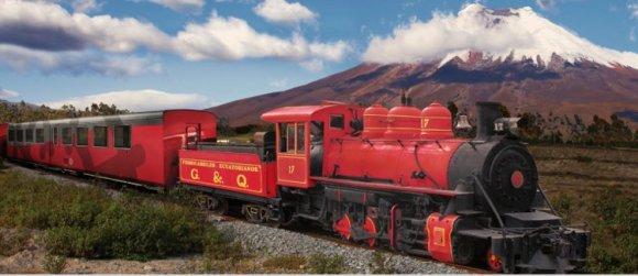 Tren Crucero nuevo ferrocarril turistico Andes costa ecuatoriana