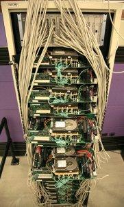 El primer servidor de Google
