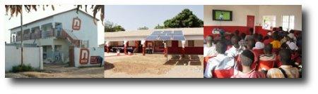 Abiertas en Gambia dos tiendas con wi-fi y energía solar