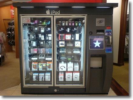 Maquina de vender iPods