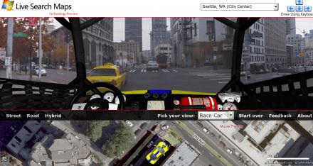 Microsoft y Google Street View