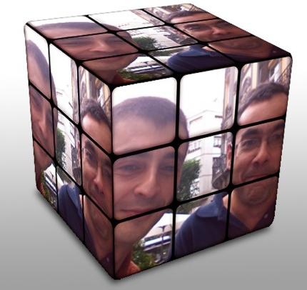 Crea un cubo de Rubik personalizado