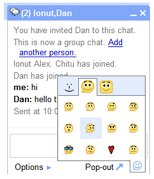 Gmail: chat en grupo y smileys