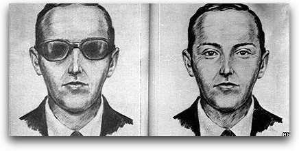 Buscan a D.B. Cooper, 38 años después