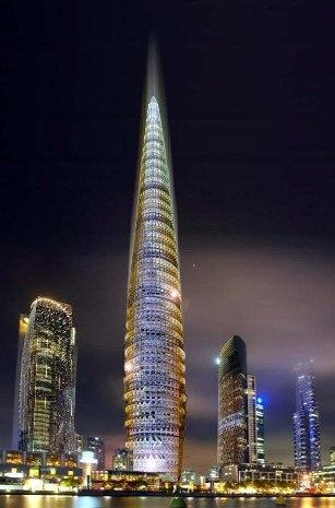 La torre biónica de Shanghai