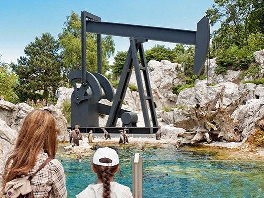 Arte en el Zoo Schönbrunn de Viena