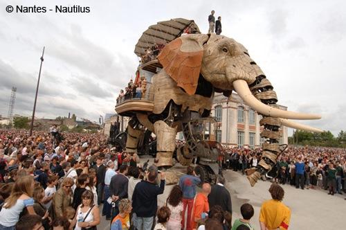 Machines de l'ille en Nantes