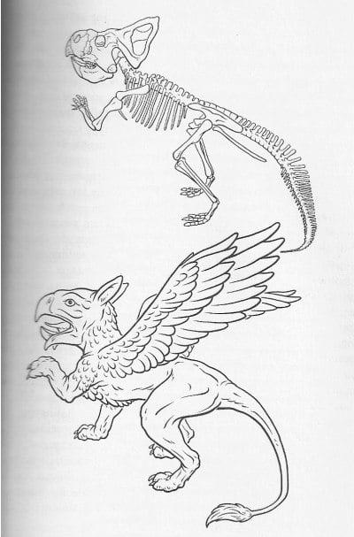Los monstruos mitológicos eran dinosaurios