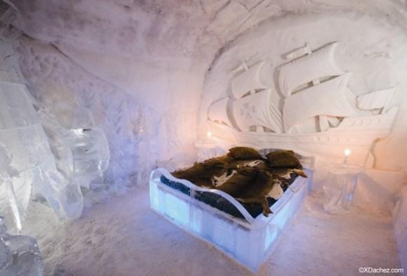 Hoteles hielo Suecia Canadá Groenlandia