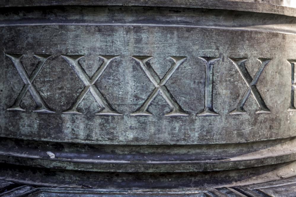 Un millón en números romanos