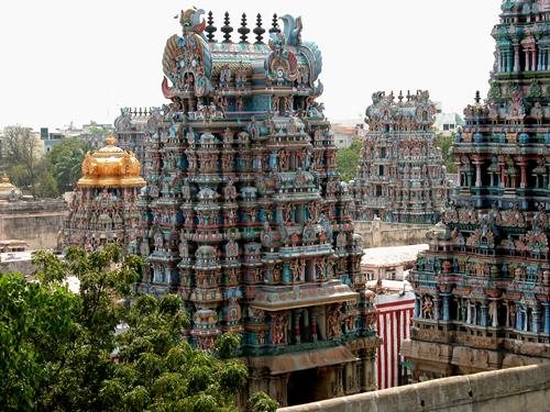 El fabuloso templo de Sri Meenakshi
